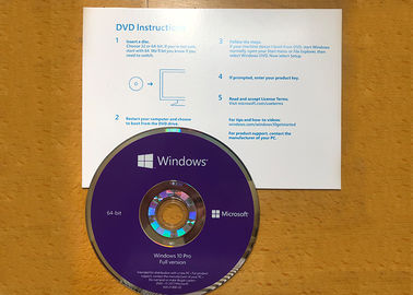 China 100% Workable Windows 10 Professional DVD , Genuine Win 10 Pro License Key supplier