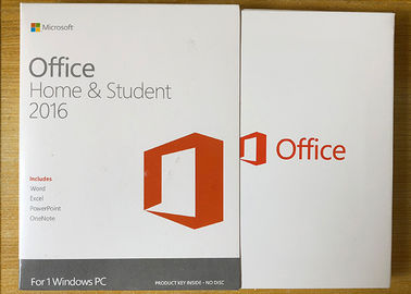 China Sealed Box Ms Office 2016 Home Product Key , Microsoft 2016 License Key For 1 PC supplier