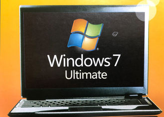 China 32/64 Bit Windows 7 Ultimate Retail Box Home Premium SP1 With Lifetime Warranty supplier