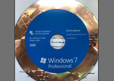 32 Bit / 64 Bit Windows 7 Professional Retail Box With Easy Installation