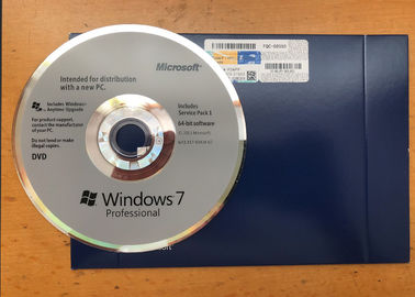 China English Language Genuine Windows 7 Professional Retail Box 32 Bit / 64 Bit factory