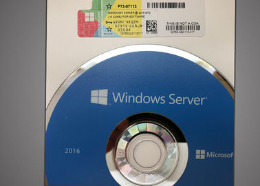 China DVD Windows Server 2016 16 Core , Server 2016 Standard Edition Microsoft Certified factory