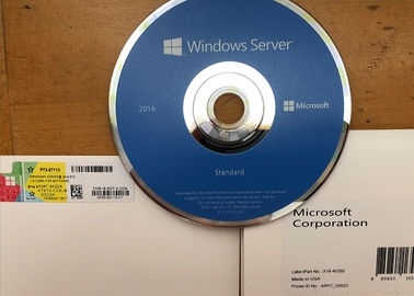 China Genuine Windows Server 2016 Editions , Microsoft Windows Server 2016 CD Activation factory