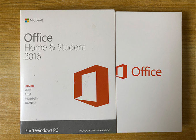 Sealed Box Ms Office 2016 Home Product Key , Microsoft 2016 License Key For 1 PC